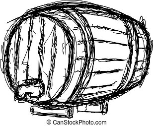 wine barrel - sketchy wine barrel