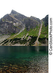 Pond Gasienicowy in Tatra Mountains, Poland