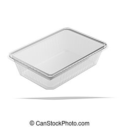 食物, プラスチック, パッケージ