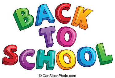 Back to school topic 3