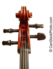 Head Of A Cello - Musical Isolation Of The Head Of A Cello