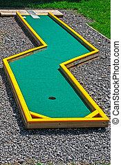 Small golf 15 - Small golf course built for children in a...