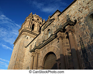 Church of Santo Domingo in Qurikancha site (Cusco, Peru)