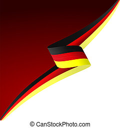 Black red yellow - Abstract color vector background German...