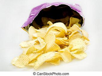 Pocket  of chips