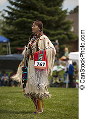 A Buckskin Dancer - ***NOTE TO INSPECTOR** resubmit -...