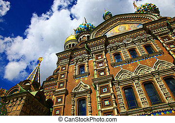 Church of the Savior on Spilled Blood, Saint Petersburg.