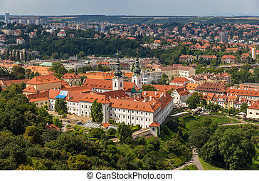 View of Basilica of the Assumption of Our Lady - Prague, Czech Republic
