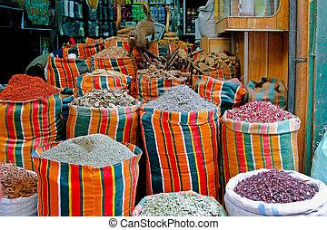Cairo market - Traditional shop at Khan el Khalili market