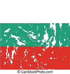 Bulgaria - dirty bulgaria flag background