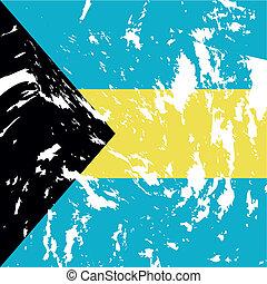 Bahamas - dirty bahamas flag background