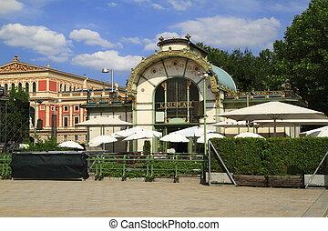 Karlsplatz Stadtbahn Station, Vienna Austria