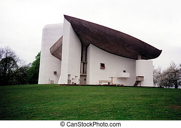 Notre Dame du Haut chapel, Ronchamp, Le Corbusier