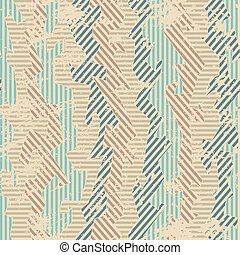 vintage fabric seamless patten with grunge effect