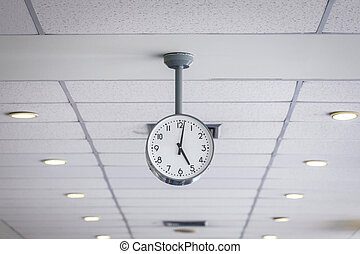 Watch on ceiling