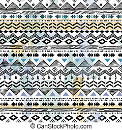 tribal print - seamless vector background