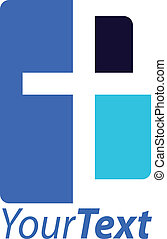 cross logo - cross vector logo