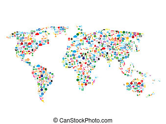 social network, communication in the global networks