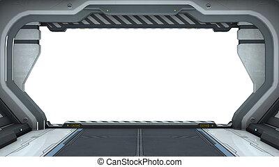 vaisseau spatial, portail