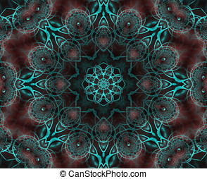 Intricate KaleidoscopicAbstract - Abstract Background -...