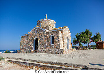 Church of Profitis Elias. Akefalou St., Protaras, Paralimni,...