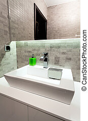 Urban apartment - rectangular sink - Urban apartment -...