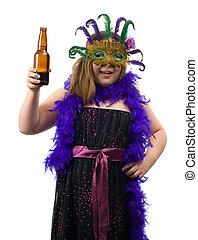 Underage Drinking Concept