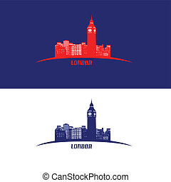 London skyline symbol - vector illustration