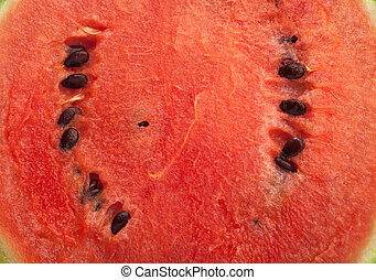 Water melon inside background