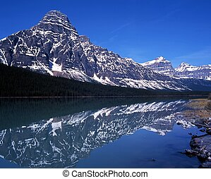 Waterfowl lake, Alberta, Canada.