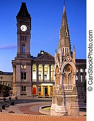 Art Gallery, Birmingham, UK. - Museum and Art Gallery with...