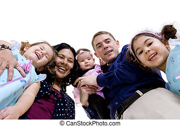 Family - A happy family. Bonding, Love, marriage, children