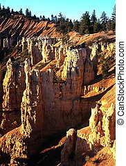 Fairyland Point, Bryce Canyon, USA.