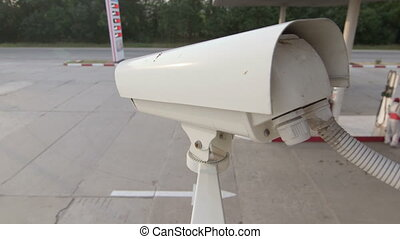Security Camera of Gas Station