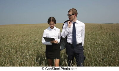 Meeting in the countryside