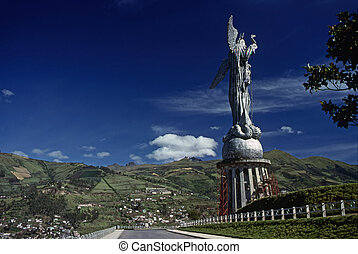 Panecillo Hill, Quito - Panecillo Hill in Quito, Ecuador