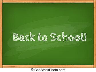 Class chalkboard