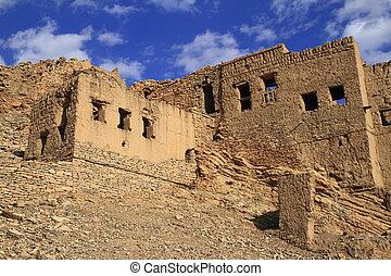 abandoned Village Birkat Al-Mawz,  Sultanate of Oman