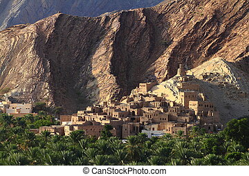 abandoned Village Birkat Al-Mawz, Sultanate of Oman