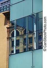 Past and Present Architecture - The contrasting...