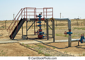 Water well. - Water well to pump in sea beds.