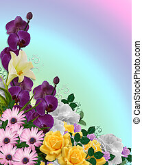 Flowers Background Springtime colors - Image and...