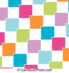 Colorful tile background