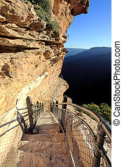 Hiking the National Pass trail Blue Mountains - Awe...
