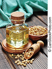 pine nuts oil