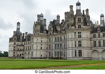 Castle of Chambord in Cher Valley, France - The royal Castle...