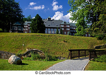 The spa town of Charles Fountain. - The spa town of Charles...