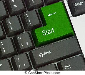 Start key