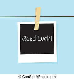 Good luck card for everyone.