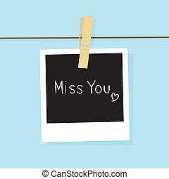 Miss you card for everyone.
